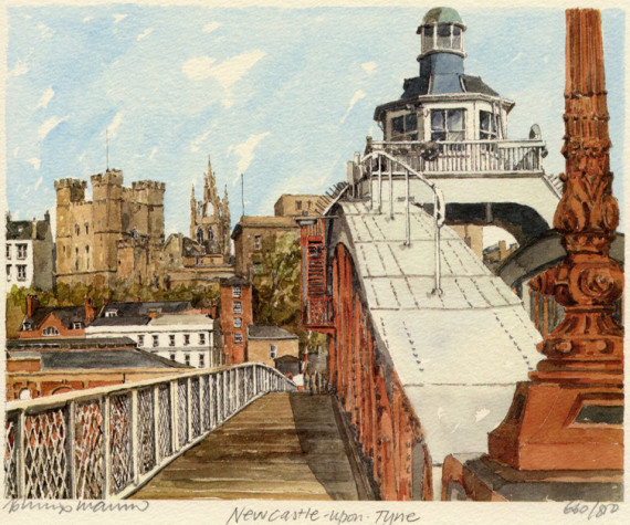 PB0449 Newcastle -- Swing Bridge