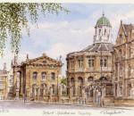 Oxford - Sheldonian Theater