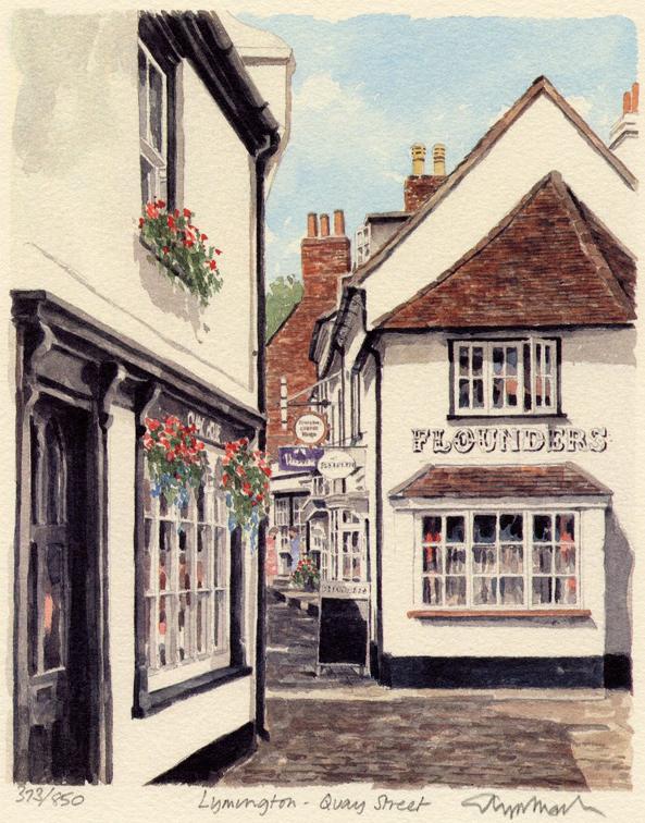 Lymington - Quay St