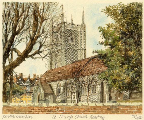 PB0469 Reading - St Mary's Church