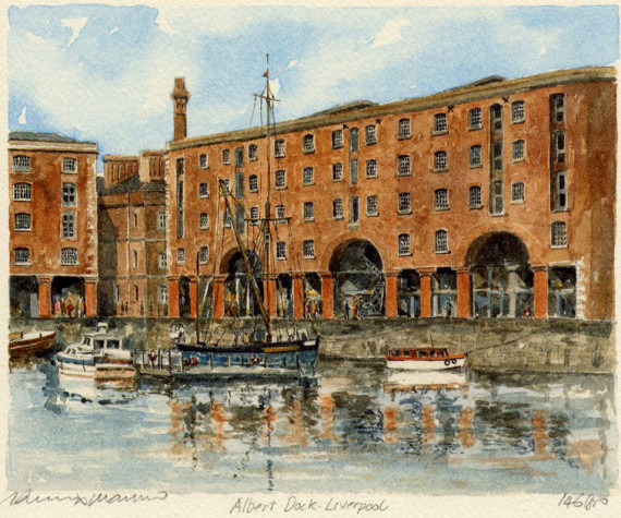 PB0493 Liverpool - Albert Dock