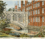 Cambridge - Bridge of Sighs