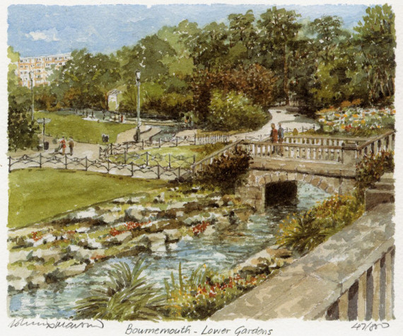 PB0521 Bournemouth - Lower Gardens