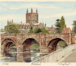 Hereford - Bridge & Cathedral