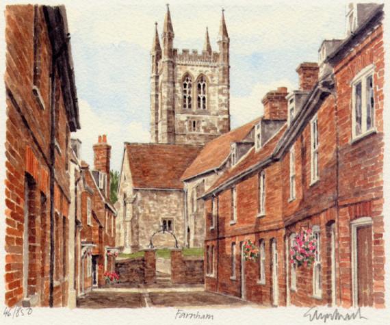 PB0566 Farnham -Lower Church Lane