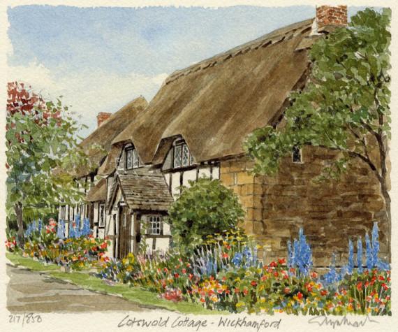 PB0573 Cotswold Cottage - Wickhamford