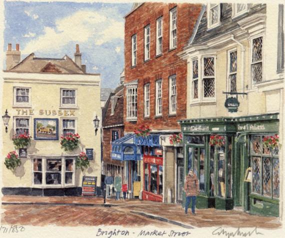 PB0589 Brighton - Market Street