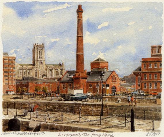 PB0644 Liverpool - The Pump House