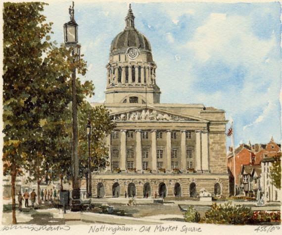 PB0646 Nottingham - Old Market Square