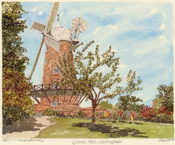 PB0648 Nottingham - Greene Mill