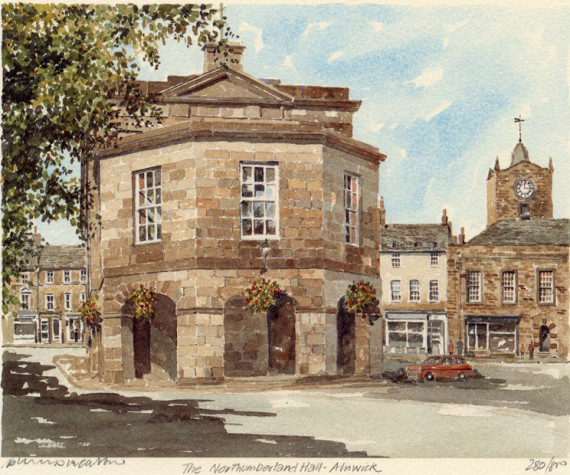 PB0663 Alnwick - Northumberland Hall