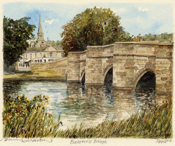 PB0725 Bakewell Bridge