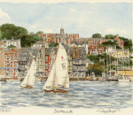 Dartmouth - from river