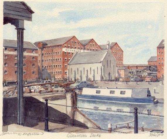 PB0754 Gloucester Docks