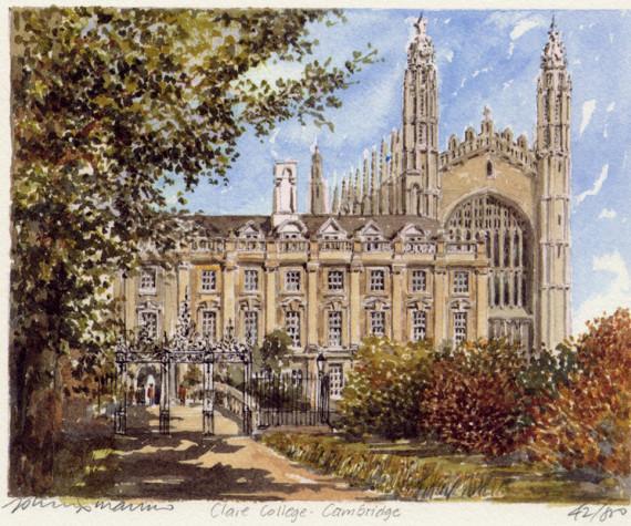 PB0779 Cambridge - Clare College