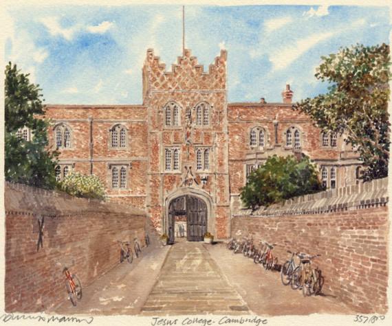 PB0780 Cambridge - Jesus College