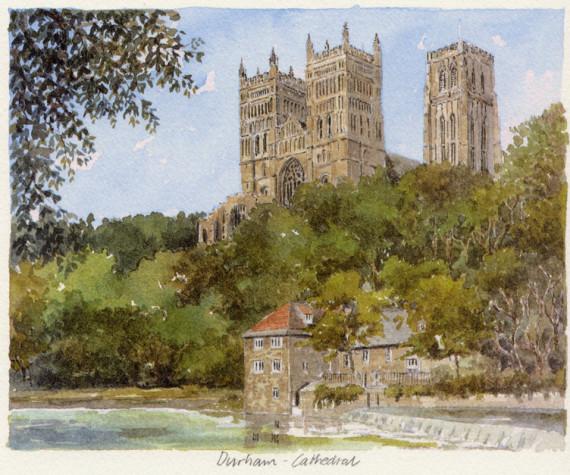 PB0789 Durham Cathedral