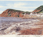 Sidmouth - looking West