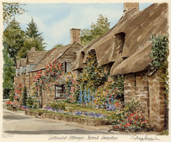 PB0798 Cotswold Cottage Broad Campden