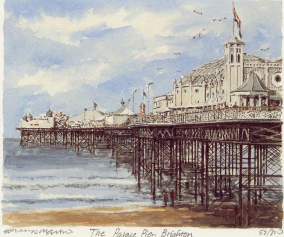PB0813 Brighton - Palace Pier