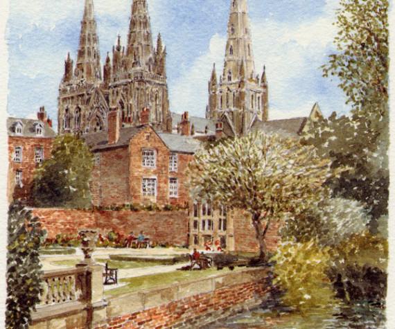 PB0831P Lichfield Cathedral