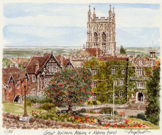 PB0836 Great Malvern - Abbey