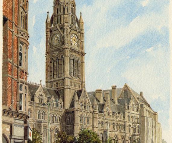 PB0860 Manchester - Town Hall