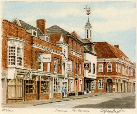 PB0880 Farnham - The Borough