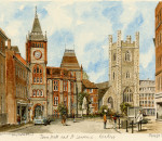 Reading - Town Hall & St Laurence