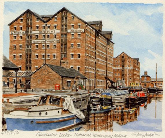 PB0933 Gloucester Docks