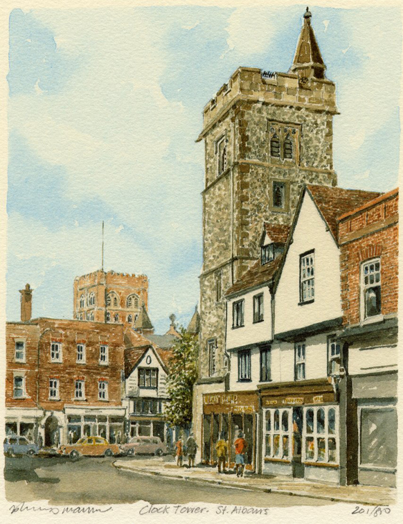 St Albans - Clock Tower