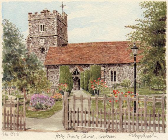 PB0940 Cookham - The Church