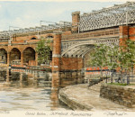 Manchester - Canal Bas, Castlefield