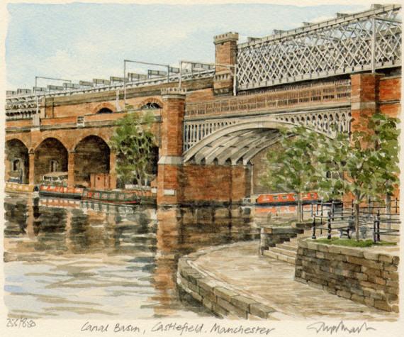 PB0955 Manchester - Canal Bas, Castlefield