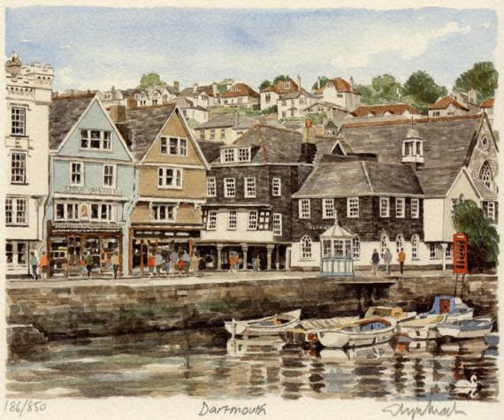 PB0986 Dartmouth - Inner Harbour