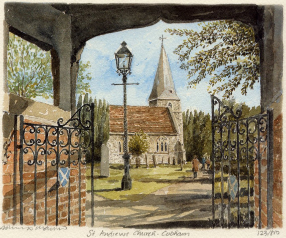 PB0994 Cobham - St Andrews Church