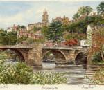 Bridgnorth - St Mary's Ch and Bridge