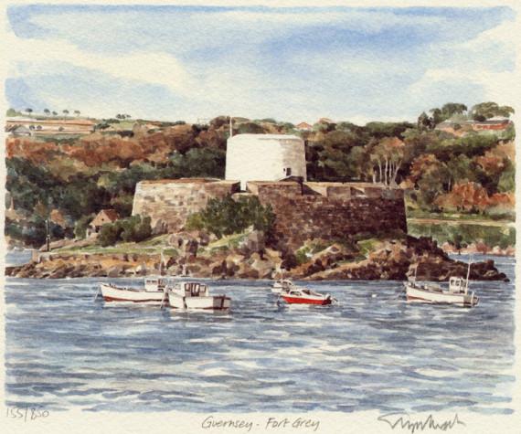 PB1036 Guernsey - Fort Grey