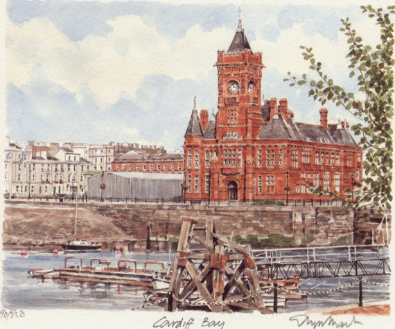 Cardiff Bay - Riverhead Building