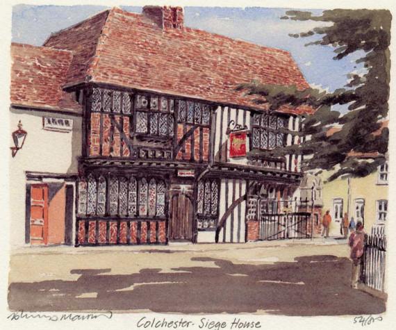 PB1080 Colchester - Siege House