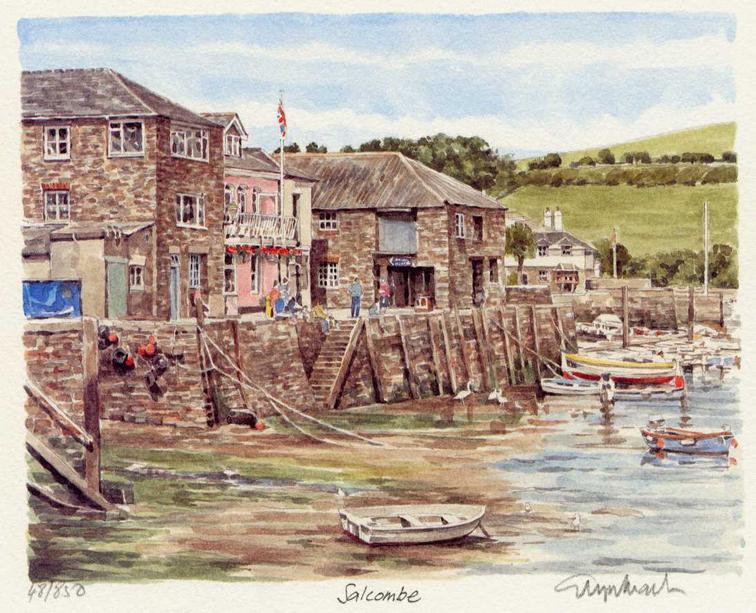 Salcombe - Harbour