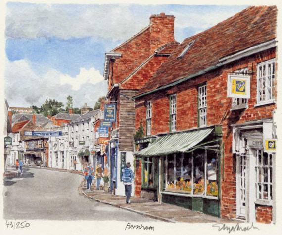 PB1087 Farnham - Downing St