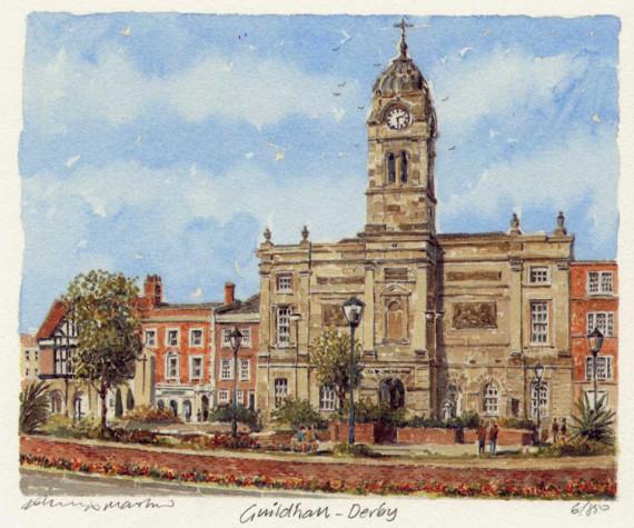 PB1092 Derby - Guildhall