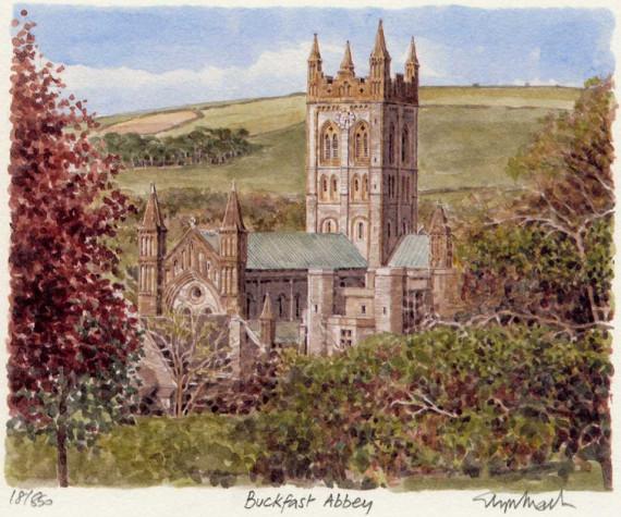 PB1110 Buckfast Abbey