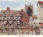 Tewkesbury - from Canal
