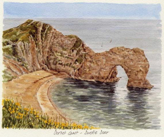 PB1119 Dorset Coast - Durdle Door