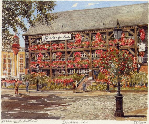PB1129 Dickens Inn (St Kath Dock)