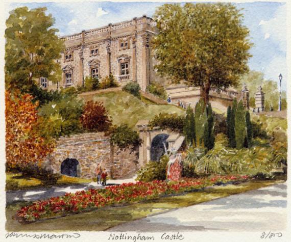 PB1145 Nottingham Castle