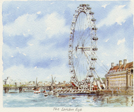PB1158 London Eye