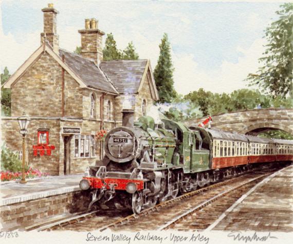 PB1186 Severn Valley Railway- Upper Abbey